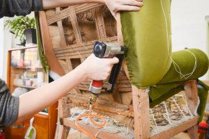herramienta para tapizar